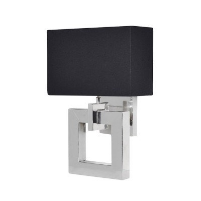 Wall Lamp Black Shade : Hugo Ridge : Interiors & Luxury Lifestyle Product categories Wall Lights
