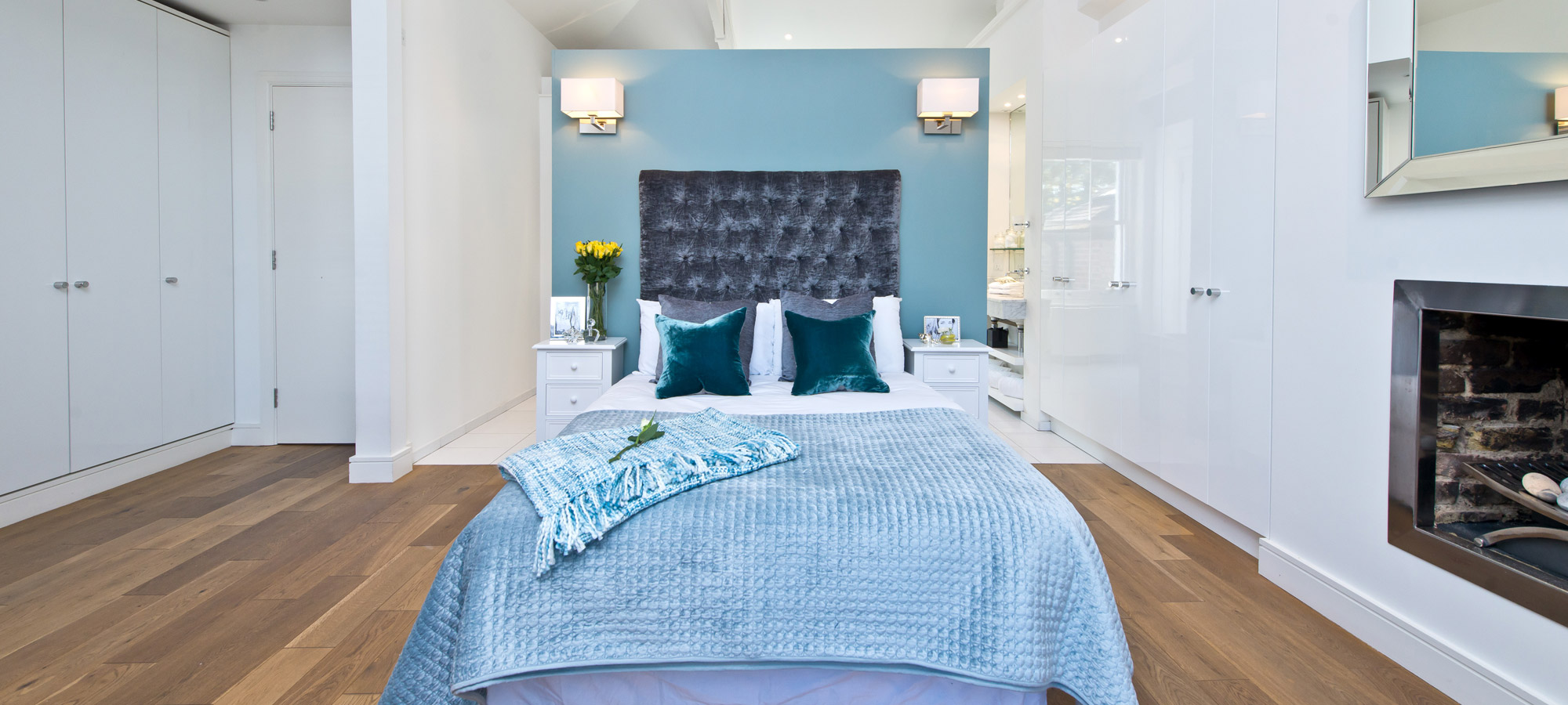 Limerston Place Interior Design Bedroom